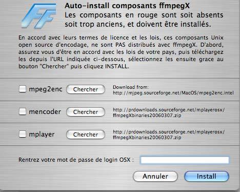 GRATUIT TÉLÉCHARGER MPEG2ENC MAC