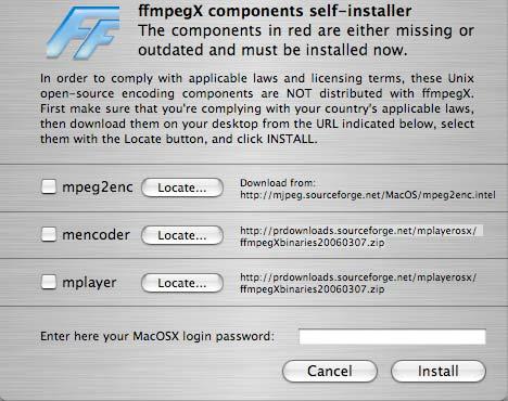 mpeg2enc pour mac